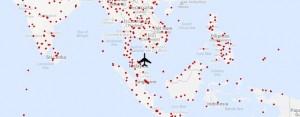 640 piste dove il volo MH370 della Malaysia Airlines potrebbe trovarsi