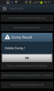 Delete dumpstate/logcat