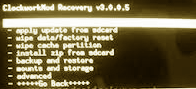 Clockworkmod Recovery 3