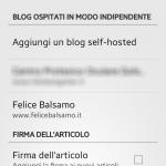 Impostiamo i nostri siti web WordPress nell'app