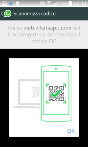 QrCode Whatsapp Web